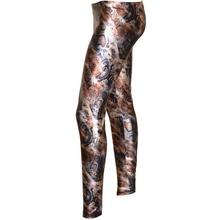 LEGGINGS donna nero blu grigio bronzo argento pantalone pantacollant fuseaux A20