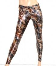 LEGGINGS donna nero blu grigio bronzo argento leggins pantaloni pelle pantacollant liquid skinny lucidi A20