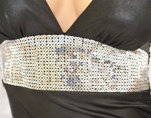 MINI ABITO Donna miniabito sexy effetto pelle con zip con paiellettes vestito dress vestido kleid sexy discoteca V10