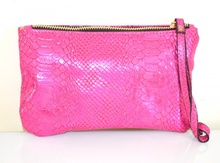 MINI BORSELLO ROSA FUCSIA donna borsellino pochette tracolla a mano clutch bag E179