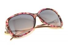 OCCHIALI da SOLE donna rosa aste oro dorata strass serpente lenti ovali uv400 G2