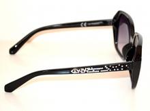 OCCHIALI da SOLE NERI donna lenti aste strass brillantini sončna očala G5