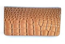 PORTAFOGLIO MARRONE borsello donna pelle vernice lucida cocco portefeuille 1080