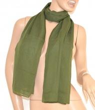 STOLA MAXI foulard donna COPRISPALLE VERDE SETA cerimonia da sera ELEGANTE 1030