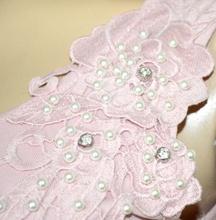 CANOTTA ROSA donna top maglietta giromanica pizzo ricamata perle cotone elegante G16