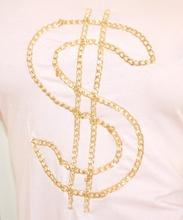 MAGLIETTA donna ROSA CIPRIA elegante maglia sottogiacca t-shirt cotone catena oro sexy 5N