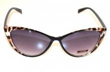 OCCHIALI da SOLE neri marrone donna maculate leopardate lenti Sunglasses G6