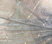 STOLA GRIGIO NERA foulard maxi donna coprispalle scialle velato elegante sciarpa cerimonia G64