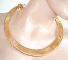 COLLANA GIROCOLLO donna collarino ORO necklace elegante dorato da cerimonia 780