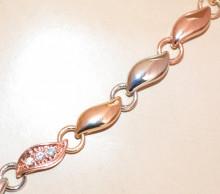 COLLANA donna argento oro rosa ciondolo lilla glicine strass collier catena girocollo elegante GP8
