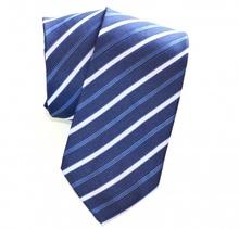 CRAVATTA classica uomo BLU a righe ELEGANTE raso da cerimonia Tie Cravate Lazo Laço 20