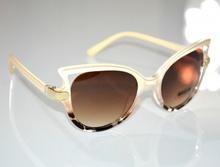 OCCHIALI da SOLE donna BEIGE ORO maculati leopardati marroni lenti gafas G12