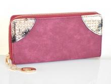 PORTAFOGLIO donna AMARENA ORO borsello portamonete borsellino clutch bag idea regalo A16