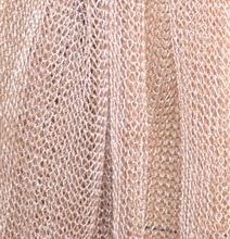 nuovo concetto bfac0 9b719 STOLA ORO ROSA donna elegante coprispalle rete scialle maxi ...