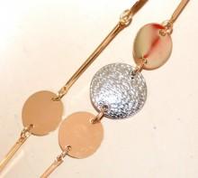 COLLANA LUNGA donna girocollo oro dorata fili ciondoli argento medagline GP28