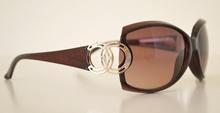 Occhiali da sole marroni donna lenti ovali protezione solare UV400 BB37