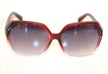 OCCHIALI da SOLE ROSSI donna lenti aste strass brillantini Sonnenbrille G5