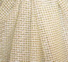 STOLA ORO dorata maxi foulard donna coprispalle lurex brillantinato scialle elegante abito B3
