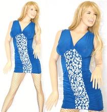 ABITO donna vestito tubino elegante sexy mini dress miniabito kleid vestido V09