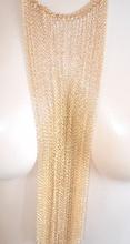 COLLANA LUNGA donna ORO multifili GIROCOLLO elegante da cerimonia SEXY COLLARINO pendente 1010