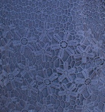 MAGLIETTA maglia donna BLU elegante sottogiacca ricamata da cerimonia maniche lunghe girocollo strass E50