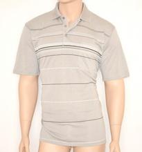 MAGLIETTA uomo maglia BEIGE estiva cotone POLO manica corta t-shirt 30A