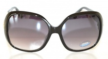 OCCHIALI da SOLE donna NERO ORO vernice lenti ovali sunglasses очки lunettes E10