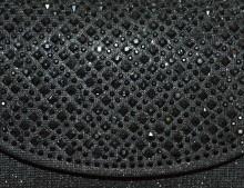 POCHETTE NERA donna borsello borsa strass cristalli borsetta clutch bag G56