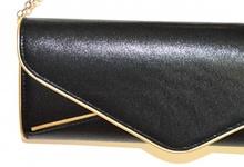 ... POCHETTE ORO NERA donna dorata borsello borsa elegante da sera bag sac  bolsa A44. prev. next. prev d8bf0af4fc1