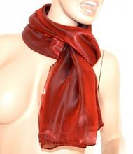SCIARPA MAXI donna foulard AMARANTO metallizzato sciarpetta pashmina tinta unita scarf 15