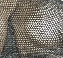 STOLA nera RETE donna filo maxi foulard coprispalle scialle frange cerimonia elegante scarf G68