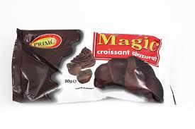 Magic, Croissant Glazurat Cu Ciocolata, 90g