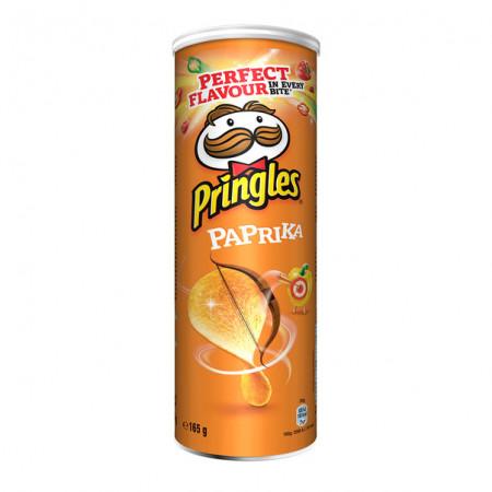 PRINGLES,Chipsuri Pringles cu paprika 165 g
