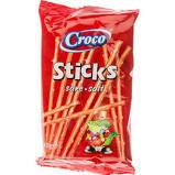 Croco, Sticks Sare, 40g