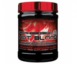 Hot Blood 3.0, pre-workout, 300 g, portocale rosii