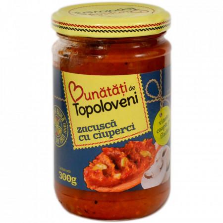 Bunatati De La Topoloveni, Zacusca Cu Ciuperci, 300g