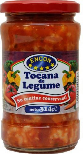 Encon, Tocana De Legume, 314g