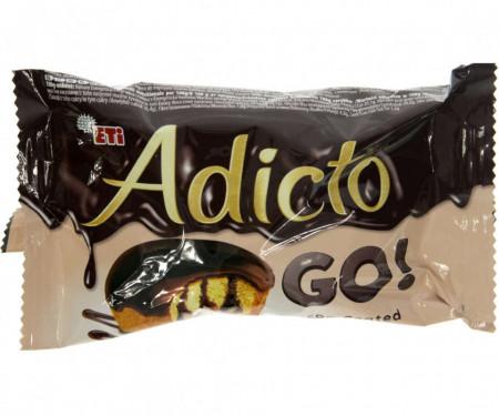 Eti, Adicto Go! Ciocolata, 45g
