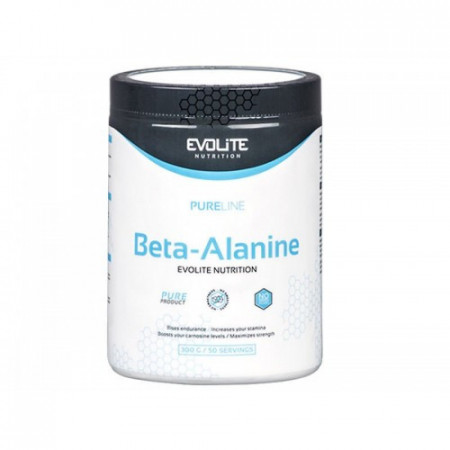 Evolite Nutrition Beta-Alanine, 300 g