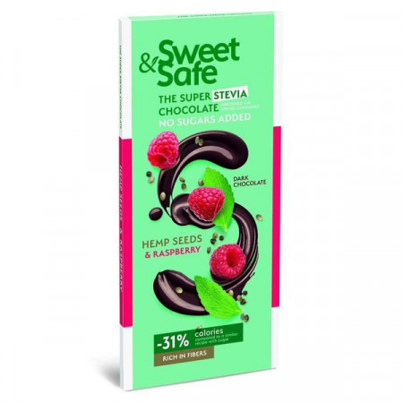Sly, Sweet & Safe - Ciocolata Amaruie Canepa, 90g