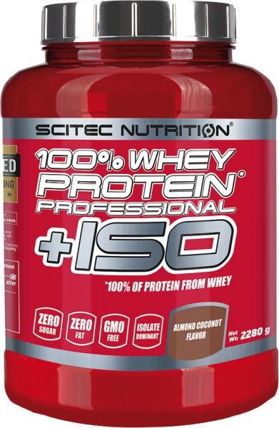 Scitec Nutrition 100% Whey Protein Professional +ISO, 2280 G