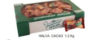Lukas, Halva Cacao, 1.3kg