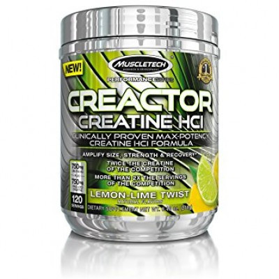 Muscletech Creactor Creatine HCI Unflavored, 203g