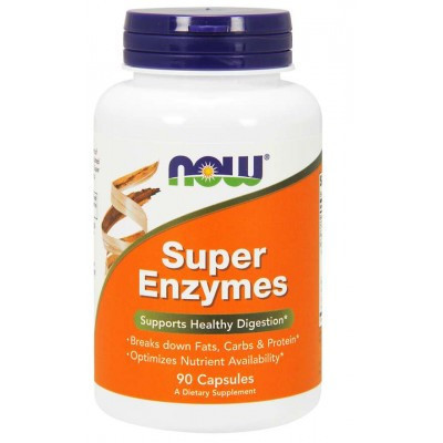 Now Super Enzymes, 90 capsules