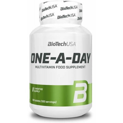 BioTechUSA, One A Day, 100tabs