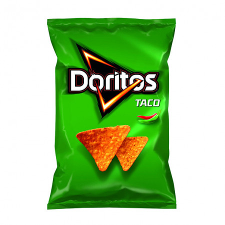 DORITOS Taco cu gust picant, 100g