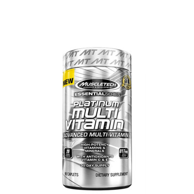 MuscleTech PLATINUM MULTIVITAMIN, 90 CAPS