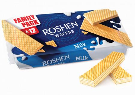 Roshen, Wafers Lapte, 72g