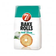 7 DAYS,Bake Rolls cu smantana si ceapa, 80 g