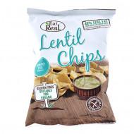 EAT REAL,Chips de linte cu crema de marar 40g